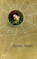 Araignée Spider Art Card Surrealisme Belle Femme Tendant Sa Toile . Seductrice .  Croqueuse - Insects