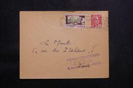 FRANCE - Vignette Contre La Tuberculose Sur Enveloppe De Paris En 1950  - L 65425 - Covers