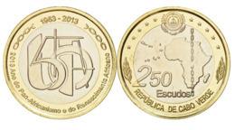 Cape Verde, 250 Escudos, 2013, Commemorative Of 50th Years Of Organization Of African Unity,UNC - Kaapverdische Eilanden