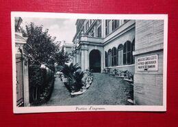 Roma, Ambulatorio Camilla Scotti. Porticio D'ingresso. Congregazione Di Carità Di Roma. - Health & Hospitals