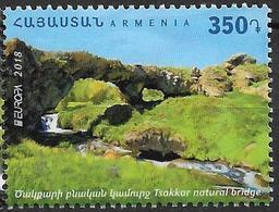 2018  Armenia, Armenien Mi. . 1073  **MNH  Europa : Bridges - 2018