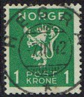 Norwegen 1940, MiNr 207, Gestempelt - Norwegen