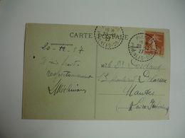 Palalda Facteur Boitier Obliteration Lettre - Storia Postale