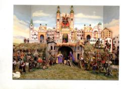 Carte Innsbruck Creche Cathedrale Saint Jacob Cachet Avec Coquillage - Innsbruck