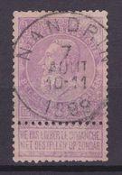 N° 66  Défauts NANDRIN  COB 65.00 - 1893-1900 Schmaler Bart