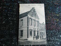 Erquelinnes, La Poste, 1913, Hôtel De France    (N10) - Erquelinnes