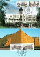 Germany / Berlin - Mi-Nr. 772/775 Maxicards (H627) - [5] Berlijn