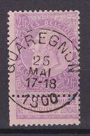 N° 66  Défauts QUAREGNON   COB 65.00 - 1893-1900 Schmaler Bart