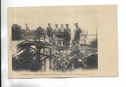 70 - JONVELLE - Le Pont Soyard Pour Le Défruitement De La Forêt De Rouvroy. 1911 - Carte Animée, Pas Courante - Frankreich