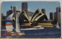 PR233 CARD PREPAGATA - SPRINT - SYDNEY HARBOR - 20 UNITS - SCADENZA  04/97 N° 001175208 - Vereinigte Staaten