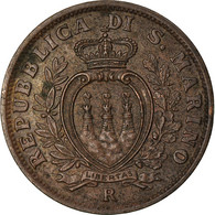 Monnaie, San Marino, 5 Centesimi, 1935, Rome, TTB, Bronze, KM:12 - San Marino