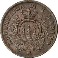 Monnaie, San Marino, 5 Centesimi, 1935, Rome, SUP, Bronze, KM:12 - San Marino