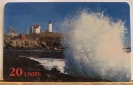 PR234 CARD PREPAGATA - SPRINT - MAINE LIGHTHOUSE - 20 UNITS - SCADENZA  12/96  N° 000972926 - Vereinigte Staaten