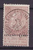 N° 61 DEPOT RELAIS  * HOUTAIN SAINT SIMEON * - 1893-1900 Schmaler Bart