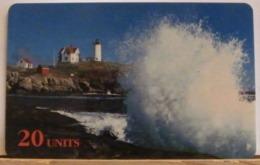 PR235 CARD PREPAGATA - SPRINT - MAINE LIGHTHOUSE - 20 UNITS - SCADENZA  03/97  N° 001059492 - Vereinigte Staaten