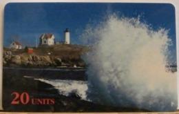 PR236 CARD PREPAGATA - SPRINT - MAINE LIGHTHOUSE - 20 UNITS - SCADENZA  05/97  N° 001198876 - Vereinigte Staaten