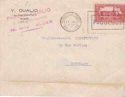 1926 / 1939 - ALGERIE - Collection De  9 Enveloppes Et Cartes Postales Remarquables - Collections (without Album)