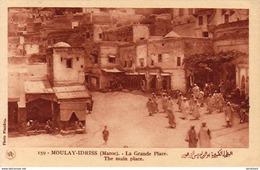 MAROC  MOULAY-IDRISS  La Grande Place  ..... - Maroc
