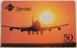 PR239 CARD PREPAGATA - SPRINT - AIRLINE - 50 UNITS - SCADENZA  05/97  N° 001197987 - Vereinigte Staaten