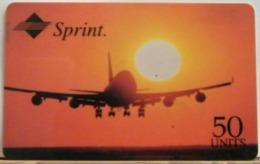 PR240 CARD PREPAGATA - SPRINT - AIRLINE - 50 UNITS - SCADENZA  03/97  N° 001085164 - Vereinigte Staaten