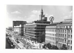 CPSM - Pologne - Warszawa - Aleje Jerozolimskie - Poland