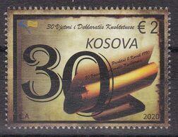 Kosovo 2020 30th Anniversary Of The Constitutional Declaration Stamp MNH - Kosovo