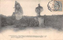 Lamoncelle (08) - Croix élevé à La Mémoire De Louis Lesergeant D'Hendecourt - France