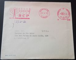 "Carta Flâmula ""ESCUTE RCP"" (1972) - Automatenmarken (ATM/Frama)"