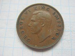 New Zeland , 1/2 Penny 1946 - New Zealand