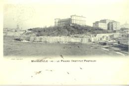 CPA - MARSEILLE - LE PHARO (INSTITUT PASTEUR) - Marseilles