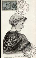 56214 France, Maximum 1942  Costumes Regionaux Languedoc, Postymark Beziers, Yvert  448 - 1940-49