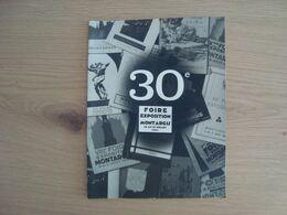 MENU 30e ANNIVERSAIRE DE LA FOIRE-EXPOSITION DE MONTARGIS 1963 - Menu