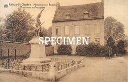 Monument En Pastorij - Sint-Genesius-Rode - Rhode-St-Genèse - St-Genesius-Rode