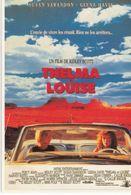 AFFICHE DE CINEMA Sur Carte Postale: THELMA Et LOUISE - Posters On Cards