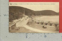 CARTOLINA VG BELGIO - LA GILEPPE - Le Barrage Et Le Lac - 9 X 14 - 1931 - Gileppe (Barrage)