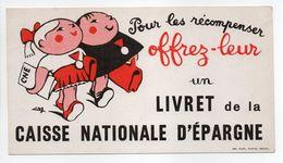 - BUVARD LIVRET De La CAISSE NATIONALE D'ÉPARGNE - - Banca & Assicurazione