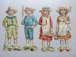 6 Grands Découpis Enfants - Children