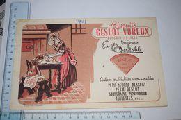 Buvard Biscuits Geslot - Voreux Rochin-les-Lille Sablé Des Flandres - Caramelle & Dolci