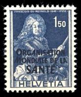 1948, Schweiz Weltgesundheitsorganisation OMS, 21, ** - Servizio