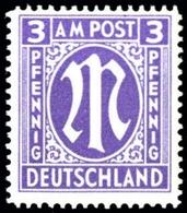 1945, Bizone, 10 B Y, ** - Bizone