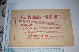 Buvard Les Produits Négro Cuirs Daim  Amiens - Textile & Vestimentaire