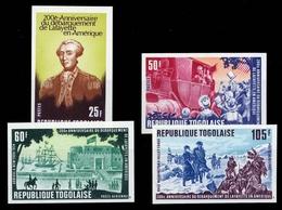 1977, Togo, 1256-59 B, ** - Togo (1960-...)