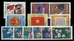 1966, Vietnam Nord Und Republik, 425-30 U.a., ** - Vietnam