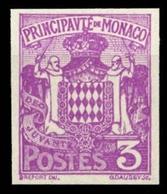 1924, Monaco, 75 U, (*) - Ohne Zuordnung