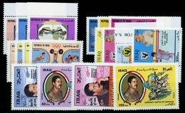 1986, Irak, 1324-27 U.a., ** - Irak