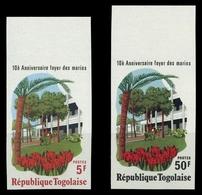 1976, Togo, 1160-61B, ** - Togo (1960-...)