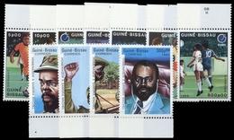 1988, Guinea Bissau, 943-49 U.a., ** - Guinea-Bissau