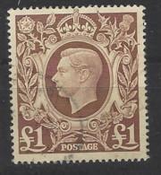 Regno Unito - 1941 - Usato/used - King George VI - Mi N. 230 - Gebruikt