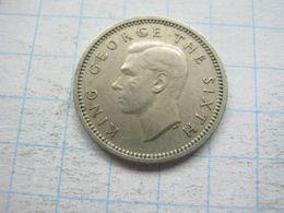 New Zeland , 3 Pence 1952 - New Zealand