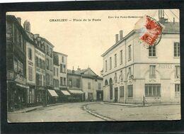 CPA - CHARLIEU - Place De La Poste - Charlieu